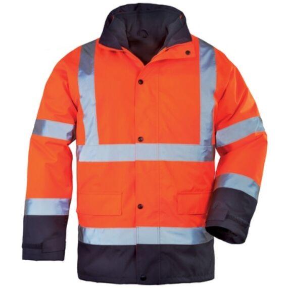 Roadway 4az1-ben narancssárga/kék kabát (M-3XL)