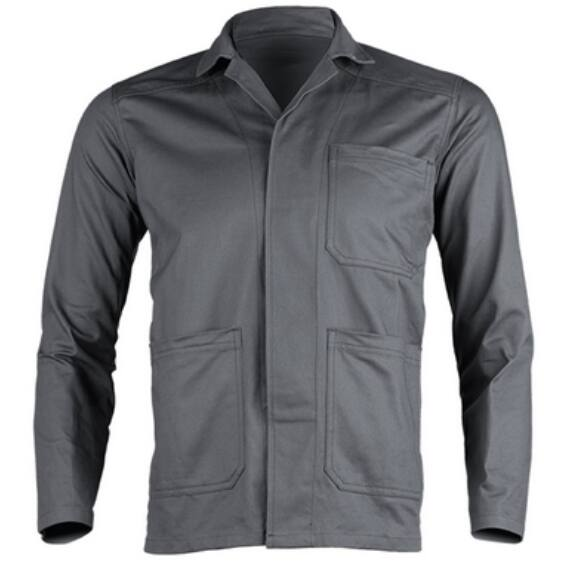 Partner szürke kabát, 100% pamut, 280g/m² anyagból (S-3XL)