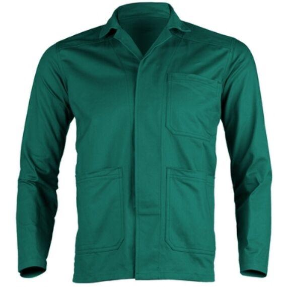 Partner zöld kabát, 100% pamut, 250g/m² anyagból (S-3XL)