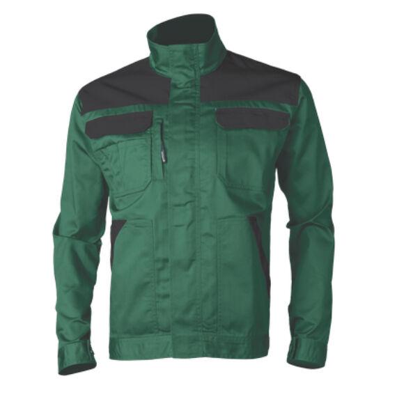 Commander munkakabát zöld színben 100% pamut anyagból