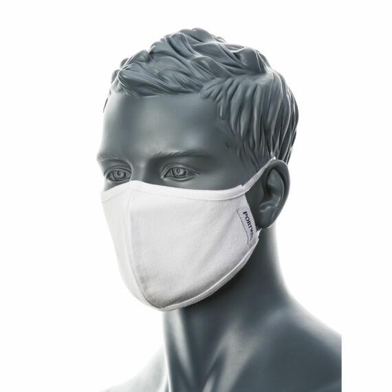 CV22 2 rétegű fehér anti-mikrobiális arcmaszk