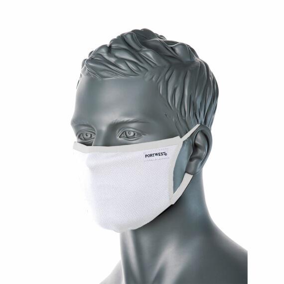 CV33 3 rétegű anti-mikrobiális fehér arcmaszk