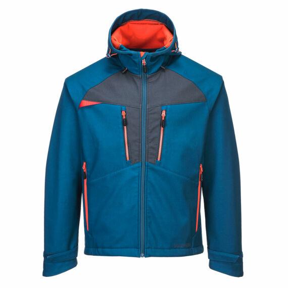 DX474 DX4 softshell metro kék kabát (S-3XL)
