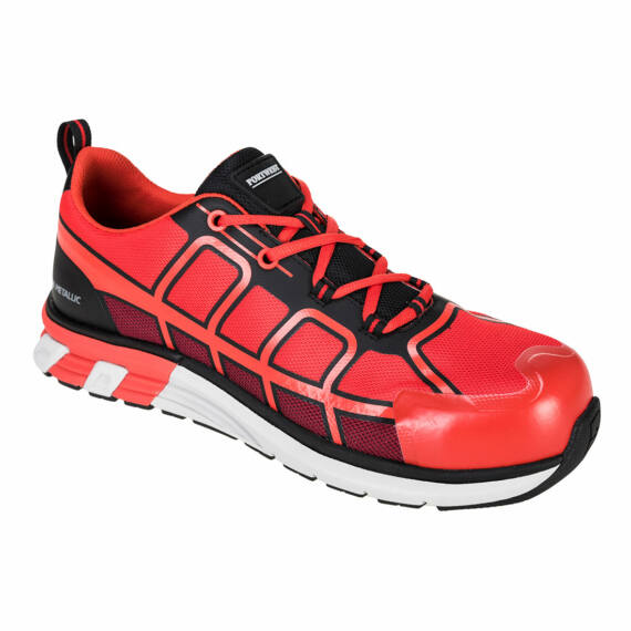 FT17 OlymFlex Barcelona SBP piros-fekete trainer (36-48)