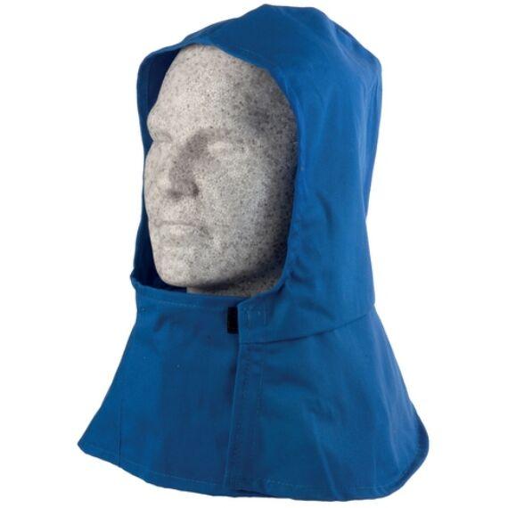 Hőálló kék textil kámzsa