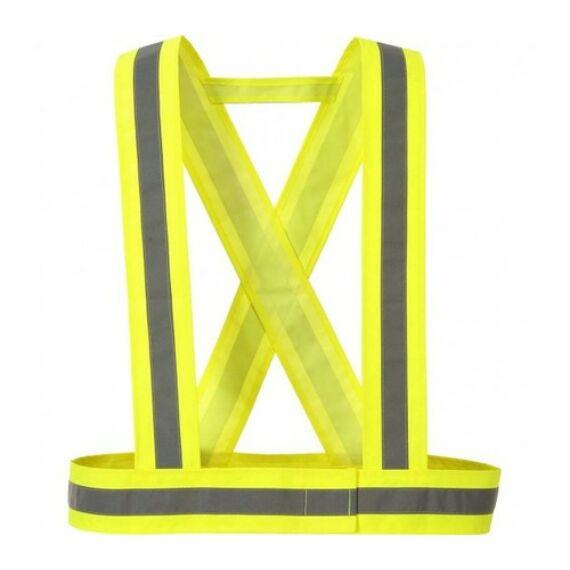 HV55 - Láthatósági kantár sárga színben