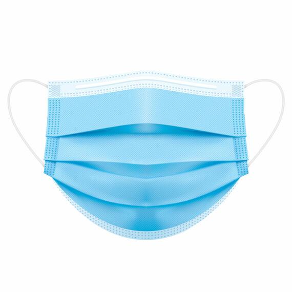 P030 IIR típusú 3 rétegű orvosi szájmaszk (1 db) - októbertől készleten