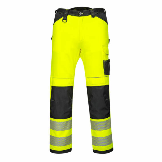PW340 PW3 Hi-Vis sárga-fekete nadrág (44-64)