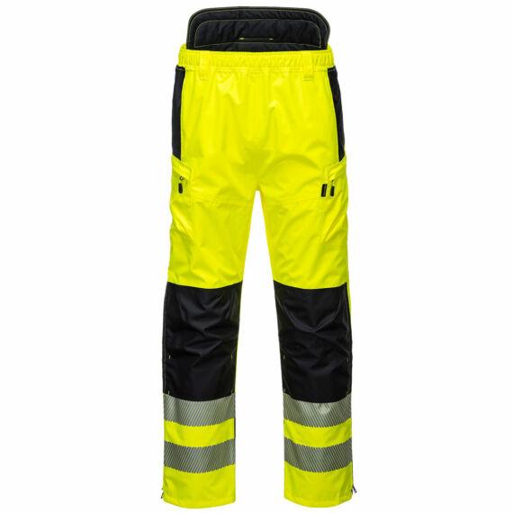 PW342 PW3 Hi-vis Extreme sárga-fekete nadrág (S-3XL)