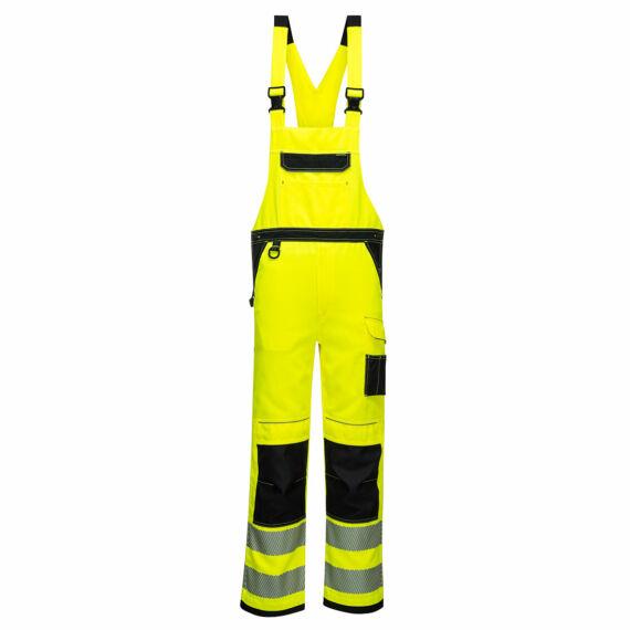 PW344 PW3 Hi-Vis sárga-fekete kantáros nadrág (S-3XL)