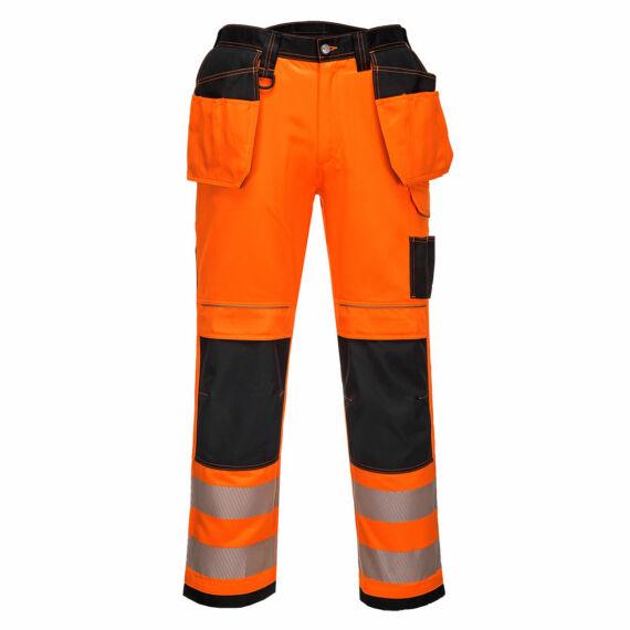 T501 PW3 Hi-Vis Holster narancs-fekete nadrág (44-64)