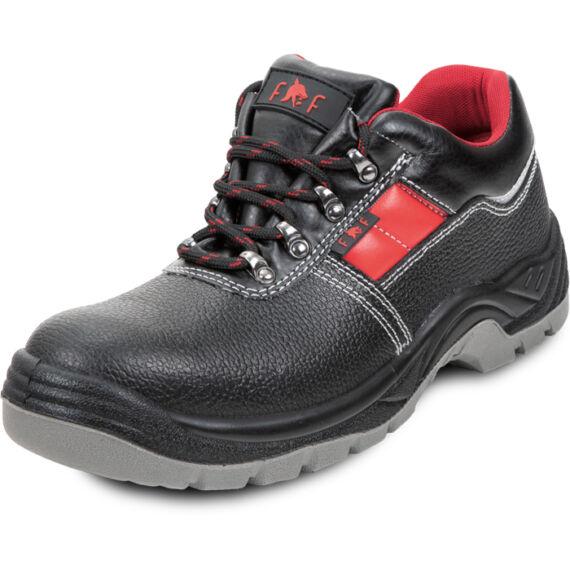 FF Kiel SC-02-002 S3 SRC fekete/piros félcipő