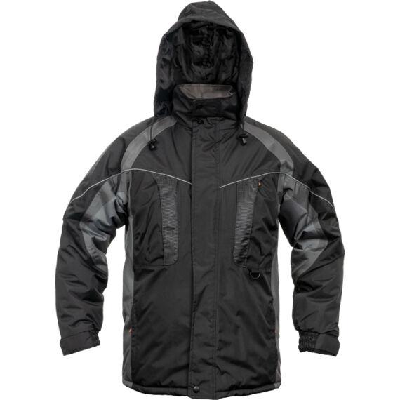 Nyala fekete kabát