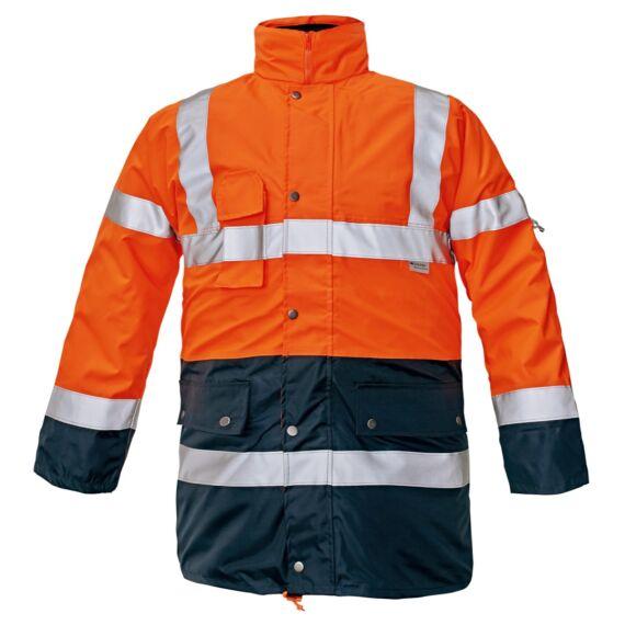 Bi Road 4 az 1-ben HV narancs/tengerészkék kabát