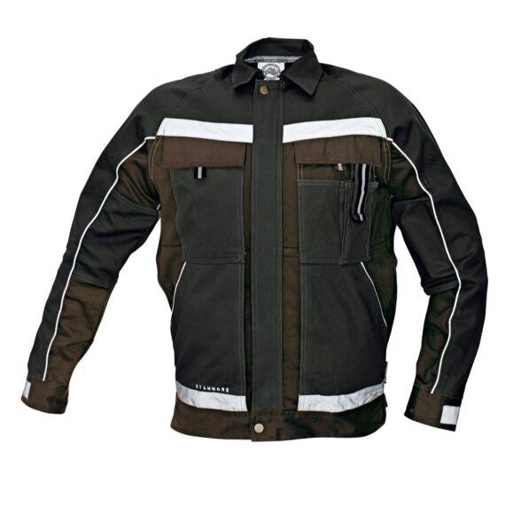 Stanmore sötétbarna kabát
