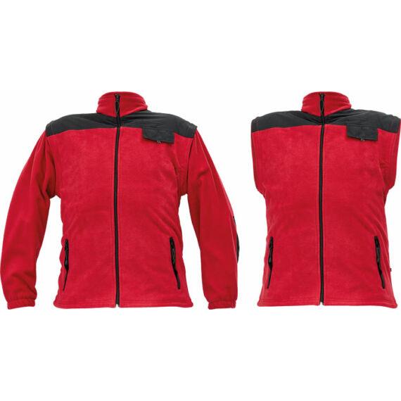 Randwik piros polár kabát