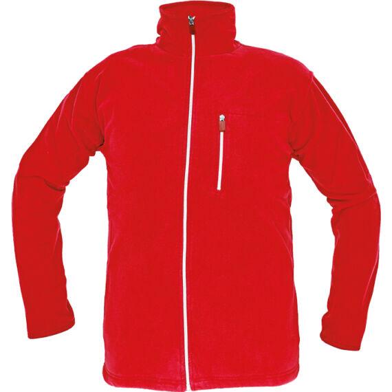 Karela piros polár kabát