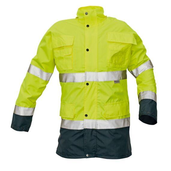Malabar HV sárga bélelt kabát