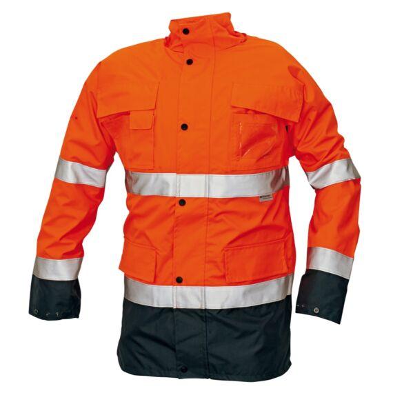 Malabar HV narancs bélelt kabát