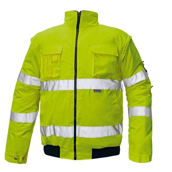 Clovelly HV sárga pilóta dzseki