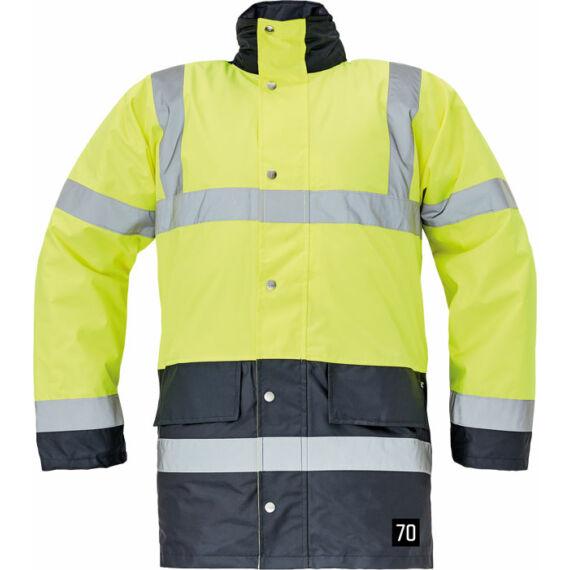Sefton HV sárga/tengerészkék kabát