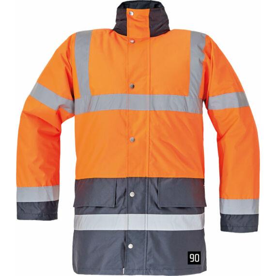 Sefton HV narancs/tengerészkék kabát