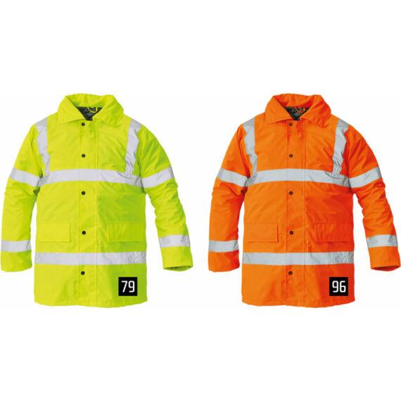 Sefton HV narancs kabát