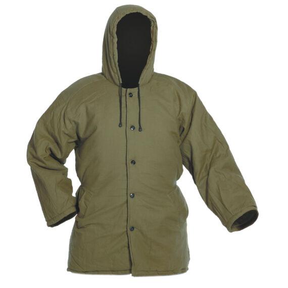 Norma zöld bélelt kabát