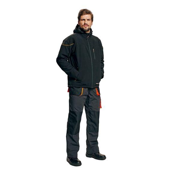 Emerton Winter fekete softshell dzseki