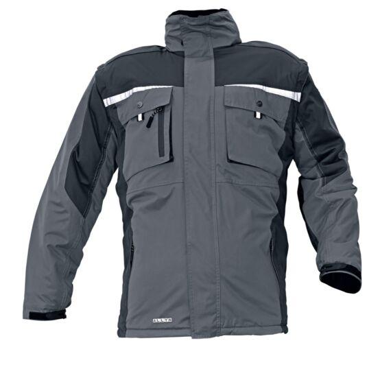 Allyn fekete téli dzseki