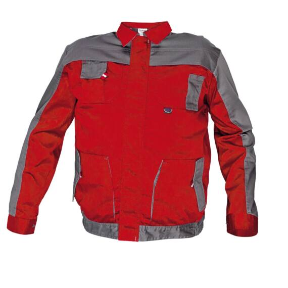 Max Evo piros/szürke kabát