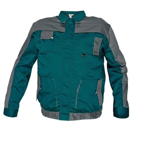 Max Evo zöld/szürke kabát