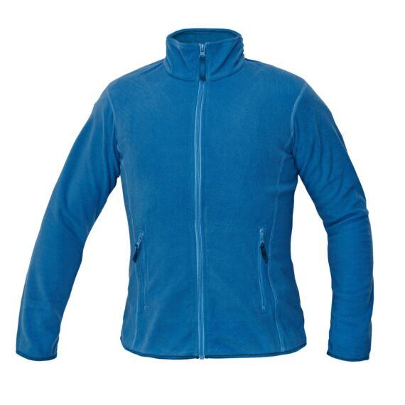 Gomti világos kék női polár kabát