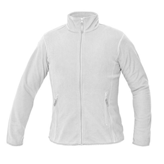 Gomti fehér női polár kabát