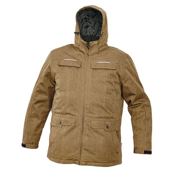 Olza bézs téli kabát