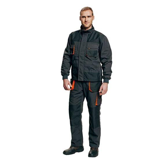 Emerton Winter fekete dzseki
