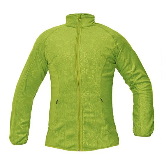 Yowie zöld női polár kabát