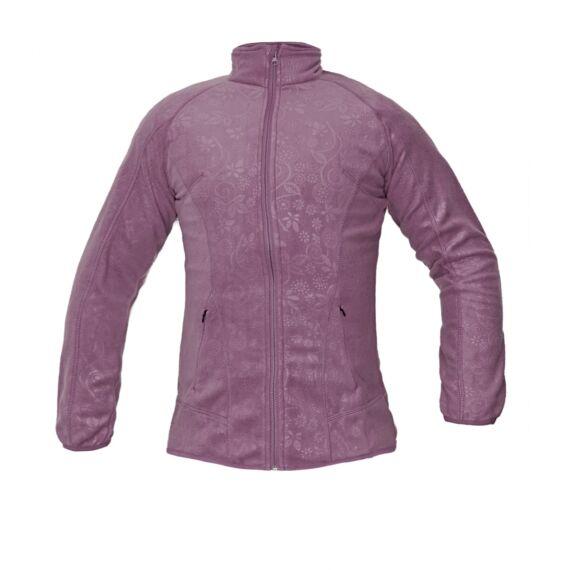 Yowie lila női polár kabát