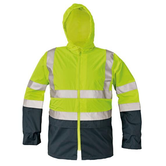 Epping sárga/tengerészkék láthatósági kabát