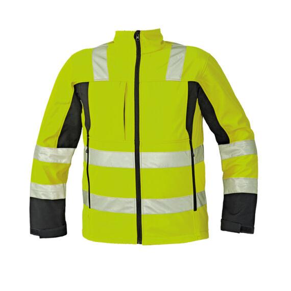 Malton HV sárga softshell kabát