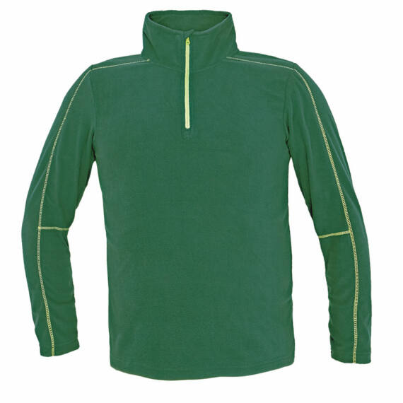 Welburn zöld polár pulóver