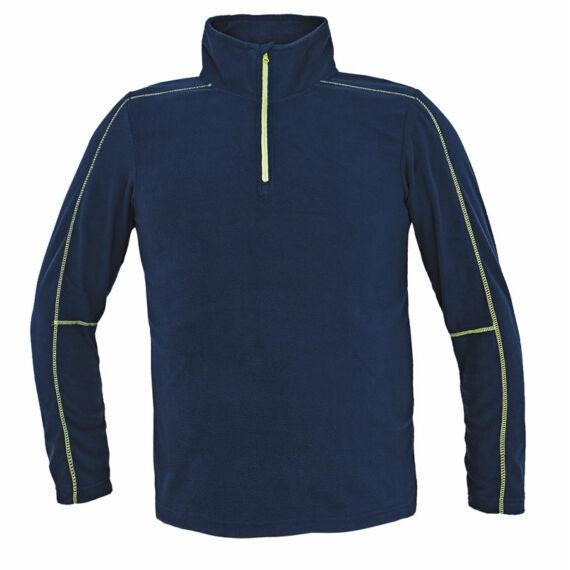 Welburn tengerészkék polár pulóver