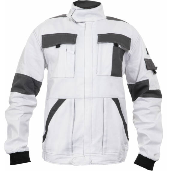 Max Summer fehér/szürke kabát