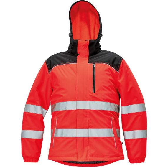 Knoxfield HV piros téli dzseki