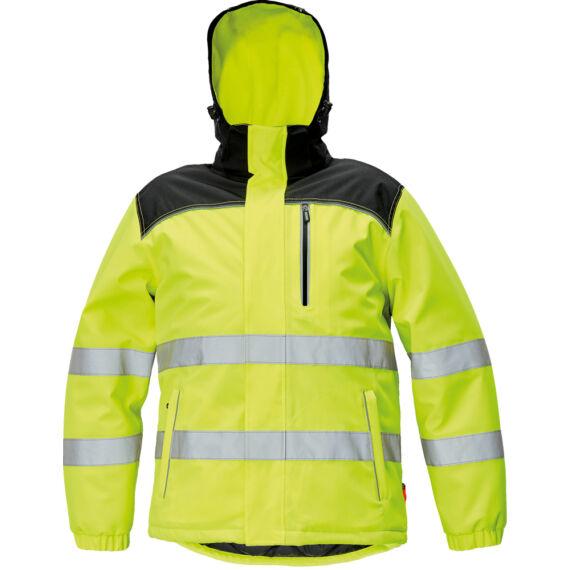 Knoxfield HV sárga téli dzseki