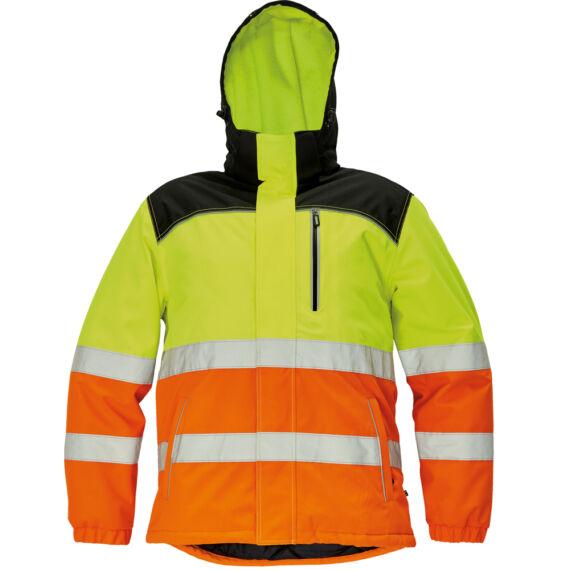 Knoxfield HV sárga/narancs téli dzseki