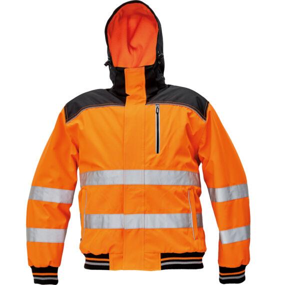 Knoxfield HV narancs pilóta dzseki