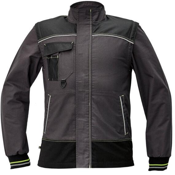 Knoxfield 275 antracit/sárga dzseki