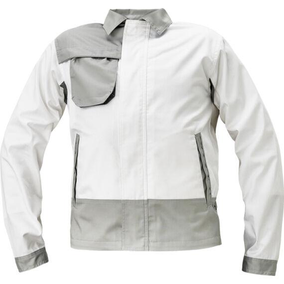 Montrose fehér/szürke kabát