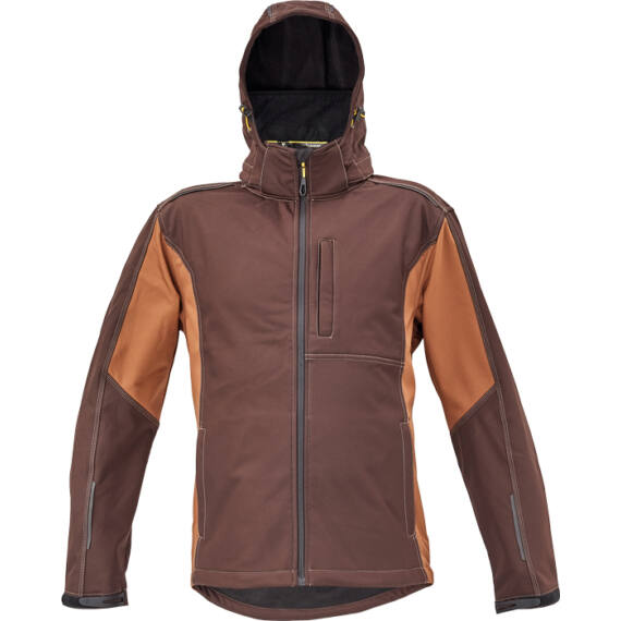 Dayboro sötét barna softshell dzseki